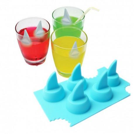 Bac à glaçon requin - 3 pièces