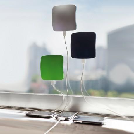Chargeur solaire à ventouse design