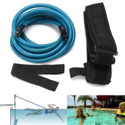 Elastique de resistance pour la nage en bassin