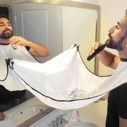 Tablier ingénieux pour le Rasage de la Barbe